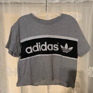 Adidas Cropped Tee